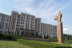 Tiraspol Photo libre de droits