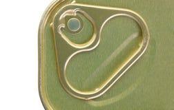 Tirata dell'anello del metallo Fotografia Stock