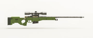 Tiratore franco Rifle Fotografie Stock