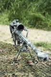 Tiratore franco Rifle Fotografia Stock Libera da Diritti