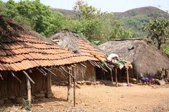 Tirbal Huts Royalty Free Stock Photo