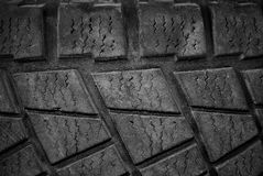 Tire. Close up of a used car tire Royalty Free Stock Images