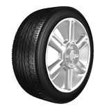Tire. The Tire made at 3d Stock Photography