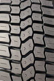Tire. Close-up of new tire profile Stock Images