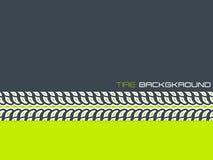 Tire advertising background design Stock Image