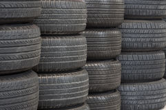 Tire background Stock Photography