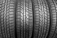 Tire background Stock Photos