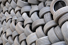 Tire background Stock Photo