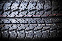 Tire background texture Royalty Free Stock Photography