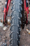 Tire bicycle Royalty Free Stock Photos