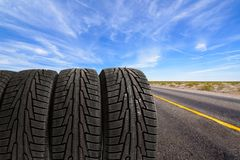 Tire Royalty Free Stock Photos
