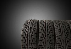Tire. Car Store Repairing Stack Service Backgrounds Stock Images