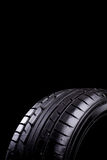 Tire. Car tires during service in the workshop stock images