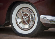 Tire of a classic car Royalty Free Stock Photography