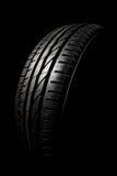 Tire close up Stock Photo