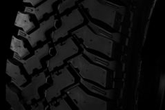 Tire close-up Royalty Free Stock Photos