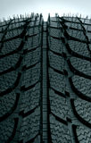 Tire close-up. Brand new tire close-up Royalty Free Stock Images