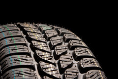 Tire close up Stock Photography