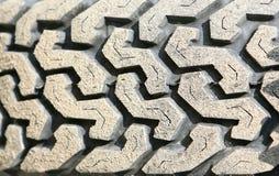 Tire closeup Stock Photo