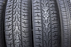 Tire closeup Royalty Free Stock Images