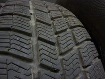 Tire. Closeup of row of new car tire stock photos