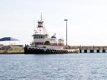 Tire del barco Foto de archivo libre de regalías