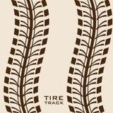 Tire design. Over beige background, vector illustration Stock Photography