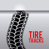 Tire design. Over gray background, vector illustration Stock Photography