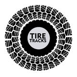 Tire design. Over white background, vector illustration Royalty Free Stock Photography