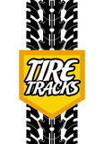 Tire design. Over white background, vector illustration Royalty Free Stock Image