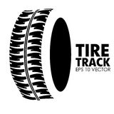Tire design. Over white background, vector illustration Royalty Free Stock Images