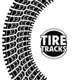 Tire design. Over white background, vector illustration Stock Images