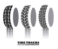 Tire design. Over white background, vector illustration Royalty Free Stock Photos