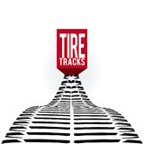 Tire design. Over white background, vector illustration Royalty Free Stock Photo