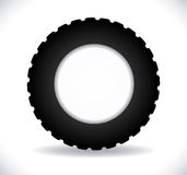 Tire design Stock Images