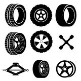 Tire design Royalty Free Stock Image