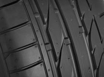 Tire detail Royalty Free Stock Images