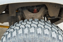 Tire four-wheel drive. Stock Photography