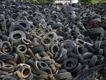 Tire Landfill Stock Photos