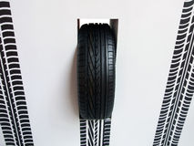 Tire mark Royalty Free Stock Images