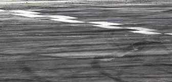 Free Tire Marks On Road Track Stock Photos - 45034893