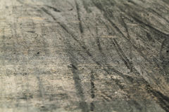 Tire marks on road track Stock Photography