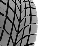 Tire with pattern Royalty Free Stock Images