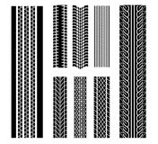 Tire patterns Stock Photo
