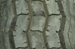 Tire. Photo taken on wheels suitable for direct 3d texture Royalty Free Stock Photo