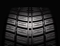 Tire in position Royalty Free Stock Images