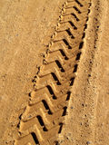 Tire Print Stock Photography