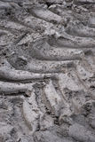 Tire prints Royalty Free Stock Photography