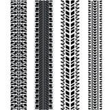 Tire prints Stock Image