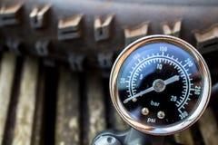 Free Tire Pump Close Up  Royalty Free Stock Photo - 53674215